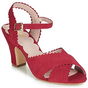 kengät Naiset Sandaalit ja avokkaat Miss L'Fire BEATRIZ Red