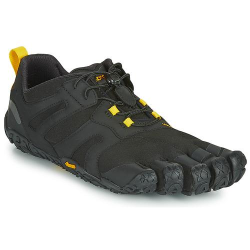 kengät Miehet Juoksukengät / Trail-kengät Vibram Fivefingers V-TRAIL Black / Yellow