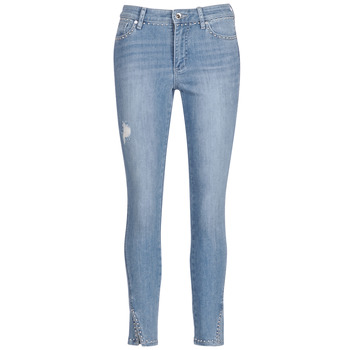 vaatteet Naiset 3/4 & 7/8-pituiset farkut Armani Exchange HELBIRI Blue / Clair