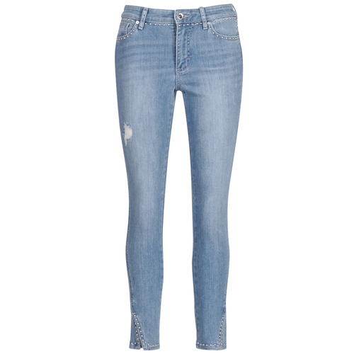 vaatteet Naiset 3/4 & 7/8-pituiset farkut Armani Exchange HELBIRI Sininen / Clear