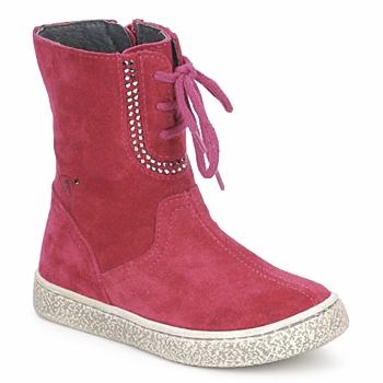 kengät Tytöt Bootsit Naturino VELOUR Raspberry