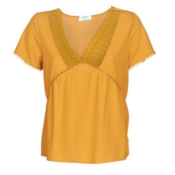 vaatteet Naiset Topit / Puserot Betty London JOCKY Yellow