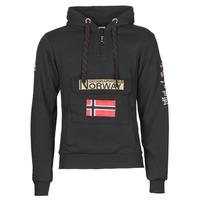 vaatteet Miehet Svetari Geographical Norway GYMCLASS Black