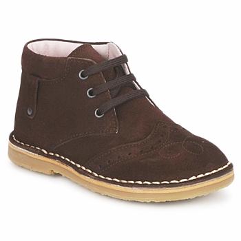 kengät Tytöt Bootsit Cacharel HARRY Ruskea
