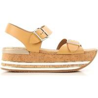 kengät Naiset Sandaalit ja avokkaat Hogan HXW3540AA40D0WC611 beige