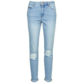 vaatteet Naiset Slim-farkut Noisy May KIM Blue / Clair