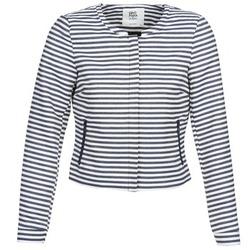 vaatteet Naiset Takit / Bleiserit Vero Moda MALTA Laivastonsininen / Valkoinen