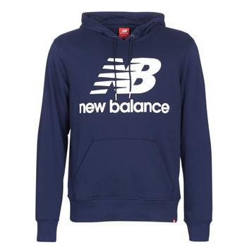 vaatteet Miehet Svetari New Balance NB SWEATSHIRT Laivastonsininen