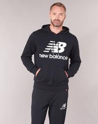 vaatteet Miehet Svetari New Balance NB SWEATSHIRT Black