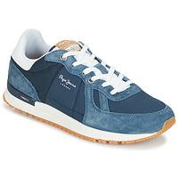 kengät Miehet Matalavartiset tennarit Pepe jeans TINKER PRO Blue