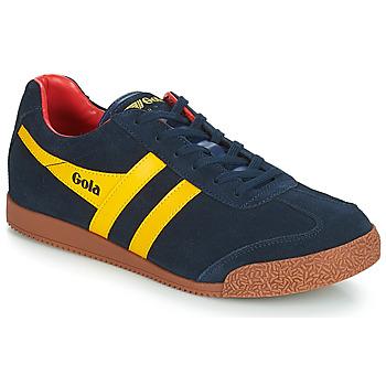 kengät Miehet Matalavartiset tennarit Gola HARRIER Blue / Yellow