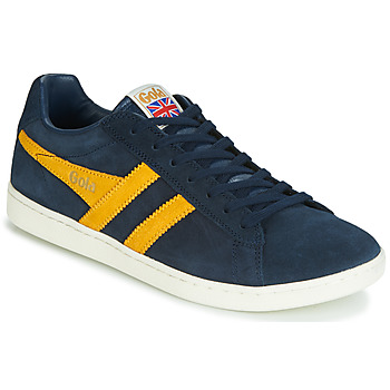 new style 06e90 4c358 kengät Miehet Matalavartiset tennarit Gola EQUIPE SUEDE Blue   Yellow
