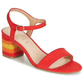 kengät Naiset Sandaalit ja avokkaat Ravel CLEMONT Orange