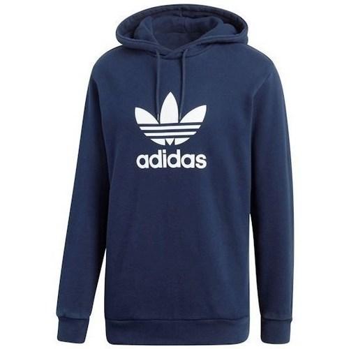 vaatteet Miehet Svetari adidas Originals Trefoil Hoody Tummansininen