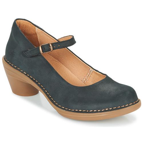 kengät Naiset Korkokengät El Naturalista AQUA Black