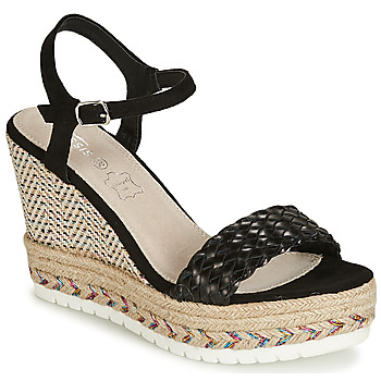 kengät Naiset Sandaalit ja avokkaat Cassis Côte d'Azur CASSANDRA Black