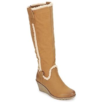 kengät Naiset Saappaat StylistClick SANAA CAMEL