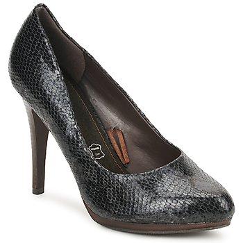 kengät Naiset Korkokengät StylistClick PALOMA Black / Python