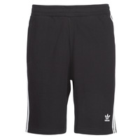 vaatteet Miehet Shortsit / Bermuda-shortsit adidas Originals 3 STRIPE SHORT Black