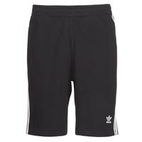 vaatteet Miehet Shortsit / Bermuda-shortsit adidas Originals 3 STRIPE SHORT Musta
