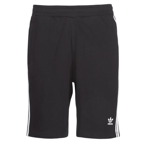 vaatteet Miehet Shortsit / Bermuda-shortsit adidas Originals 3 STRIPE SHORT Black