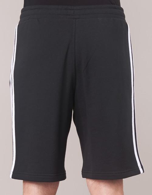 Adidas Originals 3 Stripe Short Black - Ilmainen Toimitus- Vaatteet Shortsit / Bermuda-shortsit Miehet 40