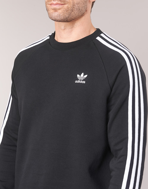 adidas Originals 3 STRIPES CREW Black 11188888 Miehet vaatteet