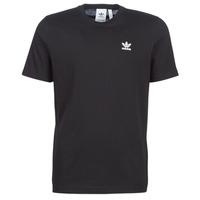vaatteet Miehet Lyhythihainen t-paita adidas Originals ESSENTIAL T Black