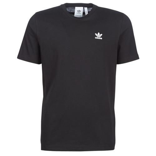 vaatteet Miehet Lyhythihainen t-paita adidas Originals ESSENTIAL T Musta