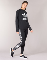 vaatteet Naiset Legginsit adidas Originals TREFOIL TIGHT Black