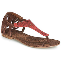kengät Naiset Sandaalit ja avokkaat Desigual SHOES_LUPITA_LOTTIE Cognac / Red