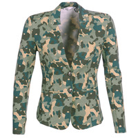 vaatteet Naiset Takit / Bleiserit Les Petites Bombes AZITAZ Multicolour