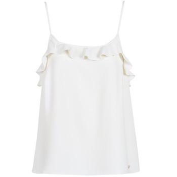 vaatteet Naiset Hihattomat paidat / Hihattomat t-paidat Les Petites Bombes AZITAFE White