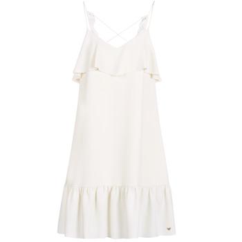 vaatteet Naiset Lyhyt mekko Les Petites Bombes AZITARBE White
