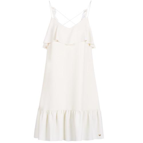 vaatteet Naiset Lyhyt mekko LPB Woman AZITARBE White
