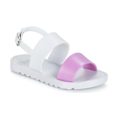 kengät Tytöt Sandaalit ja avokkaat Be Only ELEA White / Pink