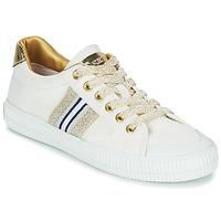 kengät Naiset Matalavartiset tennarit Replay EXTRA White / Kulta