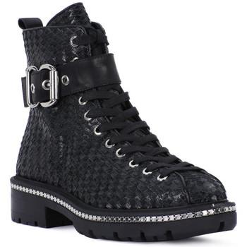 kengät Naiset Bootsit Elvio Zanon SELLERIA Nero