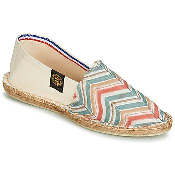 kengät Naiset Espadrillot Art of Soule BOHEME BICOLOR Beige / Blue / Corail