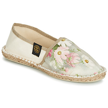 kengät Naiset Espadrillot Art of Soule BOHEME Beige / Fleur