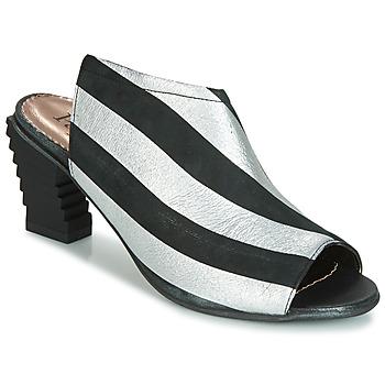 kengät Naiset Sandaalit ja avokkaat Papucei BETINA Black / White