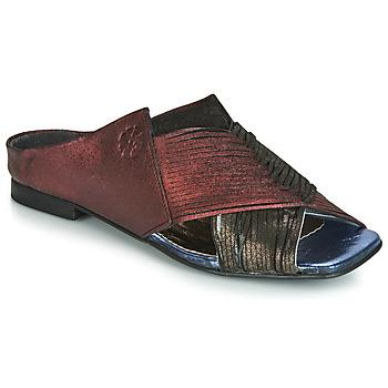 kengät Naiset Sandaalit Papucei KEPLER Black / Bordeaux