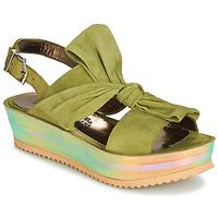 kengät Naiset Sandaalit ja avokkaat Papucei CONDE Vihreä