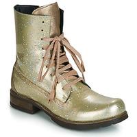 kengät Naiset Bootsit Papucei JANET Green / Beige