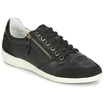 kengät Naiset Matalavartiset tennarit Geox D MYRIA Black