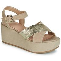 kengät Naiset Sandaalit ja avokkaat Geox D ZERFIE Kulta / Taupe
