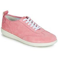 kengät Naiset Matalavartiset tennarit Geox D JEARL Pink