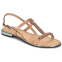 kengät Naiset Sandaalit ja avokkaat Geox D SOZY PLUS Bronze