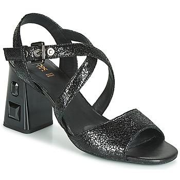 kengät Naiset Sandaalit ja avokkaat Geox D SEYLA S. HIGH PLUS Musta