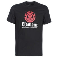 vaatteet Miehet Lyhythihainen t-paita Element VERTICAL SS Black
